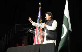 Baloch activists disrupt Pakistan PM Imran Khan's speech during a community event in Washington DC |- India TV