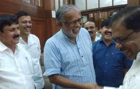 Karnataka Deputy Chief Minister G. Parameshwara meets BJP MLAs | ANI- India TV
