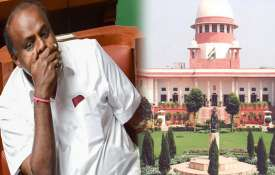 कुमारस्वामी सरकार बचेगी या जाएगी? सुप्रीम कोर्ट में सुनवाई आज- India TV