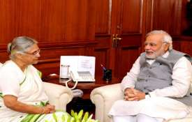 Modi with Sheila- India TV