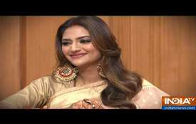 Nusrat Jahan, Mimi Chakraborty in Aap Ki Adalat- India TV