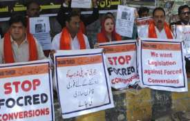 Pakistan's Sindh Assembly passes resolution to stop forced conversion of Hindu girls- India TV