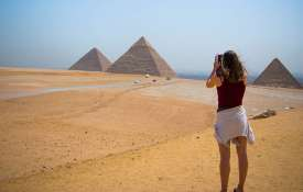 US tourist arrested and released over obscene photo shoot at Pyramids | Pixabay Representational- India TV
