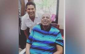 गुरु पूर्णिमा के अवसर पर कोच रमाकांत आचरेकर को याद कर भावुक हुए सचिन, ऐसे दी श्रद्धांजलि- India TV