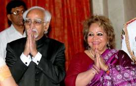hamid ansari and salma...- India TV