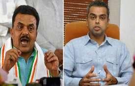 sanjay nirupam and milind...- India TV