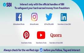 online Fraud sbi account holder alert state bank of india warns customers fake social media accounts- India TV