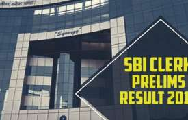 sbi clerk prelims result 2019- India TV