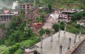 Building collapses in Himachal Pradesh's Solan- India TV