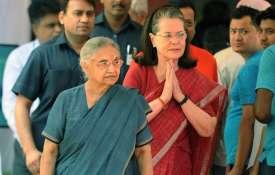 शीला दीक्षित का सोनिया गांधी के नाम आखिरी खत, कांग्रेस में मचा हड़कंप- India TV