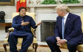 Donald Trump And Imran Khan- India TV