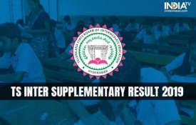 TS INTER SUPPLIMENTRY RESSULT 2019- India TV
