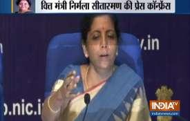 Finance Minister Nirmala Sitharaman on slowdown in Indian Economy- India TV