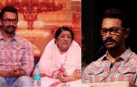 लता मंगेशकर और आमिर खान ने महाराष्ट्र बाढ़ राहत कोष में किया दान- India TV