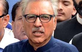 अनुच्छेद 370 पर पाकिस्तान के राष्ट्रपति की गीदड़भभकी, कहा-जेहाद से देंगे जवाब- India TV