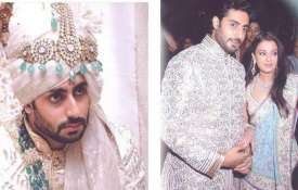 Abhishek bachchana and aishwarya rai wedding photos- India TV