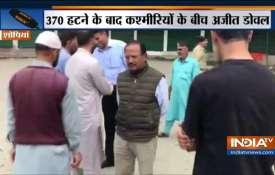 Ajit Doval In Jammu Kashmir- India TV
