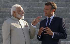 French President Emmanuel Macron and Prime...- India TV