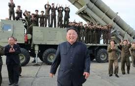 North Korean leader Kim Jong Un oversaw test of 'super-large multiple rocket launcher' | AP File- India TV Paisa