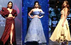 Kangana Ranaut at Lakme Fashion Week 2019- India TV