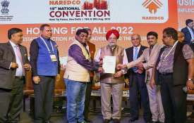 Minister of State for Housing & Urban Affairs Hardeep Singh Puri at the 15th National Convention on - India TV