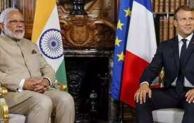 कश्मीर पर फ्रांस ने खुलकर किया भारत का समर्थन, कहा-कोई तीसरा न करे हस्तक्षेप- India TV
