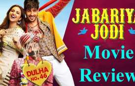 Jabariya Jodi Movie Review- India TV
