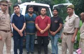 Four 'journalists' arrested for 'motivated' content in Noida of Uttar Pradesh- India TV