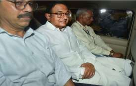New Delhi: Central Bureau of Investigation (CBI) officials arrest Congress leader P Chidambaram from- India TV