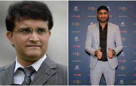 Sourav Ganguly and Harbhajan Singh- India TV