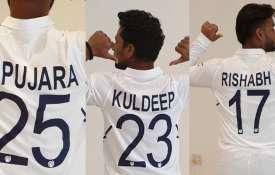 टेस्ट नंबर की जर्सी को लेकर उत्साहित भारतीय खिलाड़ी, जानिए क्या बोले अश्विन, पुजारा और राहुल- India TV