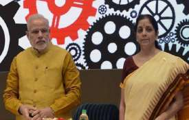 Prime Minister Narendra Modi and Finance Minister Nirmala Sitharaman- India TV