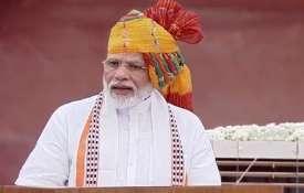 Prime Minister Narendra Modi on India Independence Day 2019- India TV