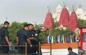 <p>Security personnel keep vigil...- India TV