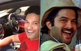 Sachin Tendulkar and Anil Kapoor- India TV