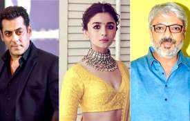 Salman Khan, Alia Bhatt and Sanjay Leela Bhansali- India TV