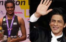 P.V Sindhu- Shah rukh...- India TV