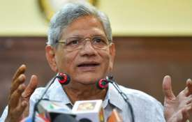 Sitaram Yechury and D Raja Detained at Srinagar Airport | PTI File- India TV