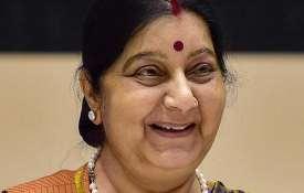 <p>Sushma Swaraj passes...- India TV
