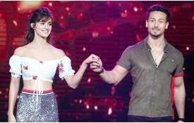 Tiger shroff and Disha...- India TV