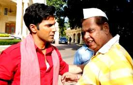 Varun Dhawan with father David Dhawan- India TV