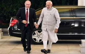 PM Narendra Modi and Russian Presiden Vladimir Putin- India TV
