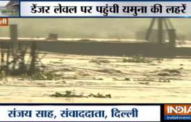 Yamuna Water Level- India TV
