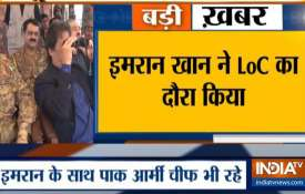 Imran Khan at LoC- India TV