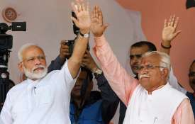 Manohar Lal Khattar claims victory on 75 seats- India TV