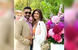 Shilpa Shetty with husband Raj Kundra- India TV