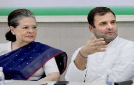 Congress president Sonia Gandhi and former congress president Rahul Gandhi- India TV