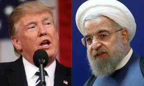 Donald Trump and Hassan Rouhani   AP- Khabar IndiaTV