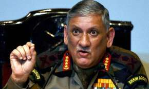 Time to reply to Pakistan in same coin, it must feel same pain, says General Bipin Rawat | PTI- India TV