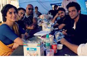 Katrina Kaif shares picture from Bharat set - India TV